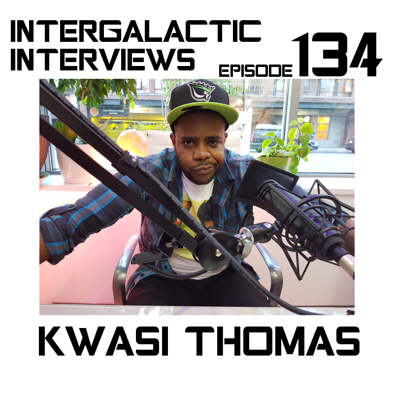 kwasi thomas intergalactic interviews episode 134 2017 comedian comedy actor md of the boomsday alliance jayme mcdonald commercial 2017