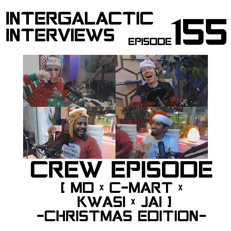 intergalactic interviews crew episode 155 kwasi thomas jai dhaliwal vancouver cryotherapy christmas imdb md of the boomsday alliance jayme mcdonald chris martin