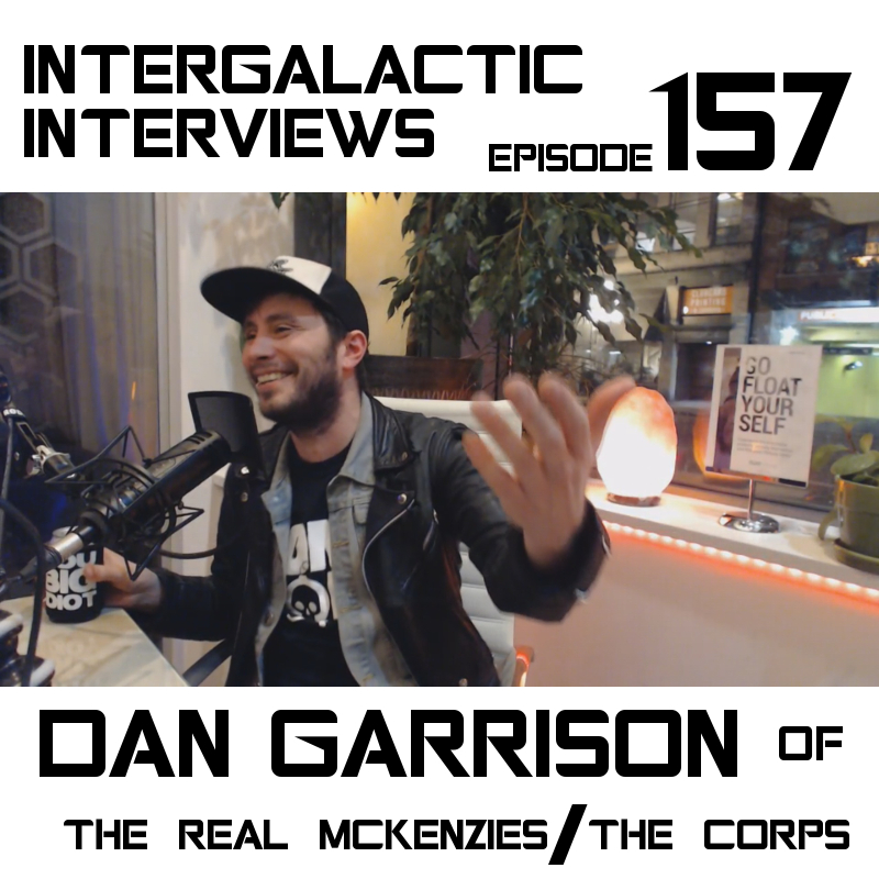 dan garrison the real mckenzies the corps podcast intergalactic interviews jayme mcdonald md of the boomsday alliance 2018 episode 157 punk rock vancouver nofx fat mike