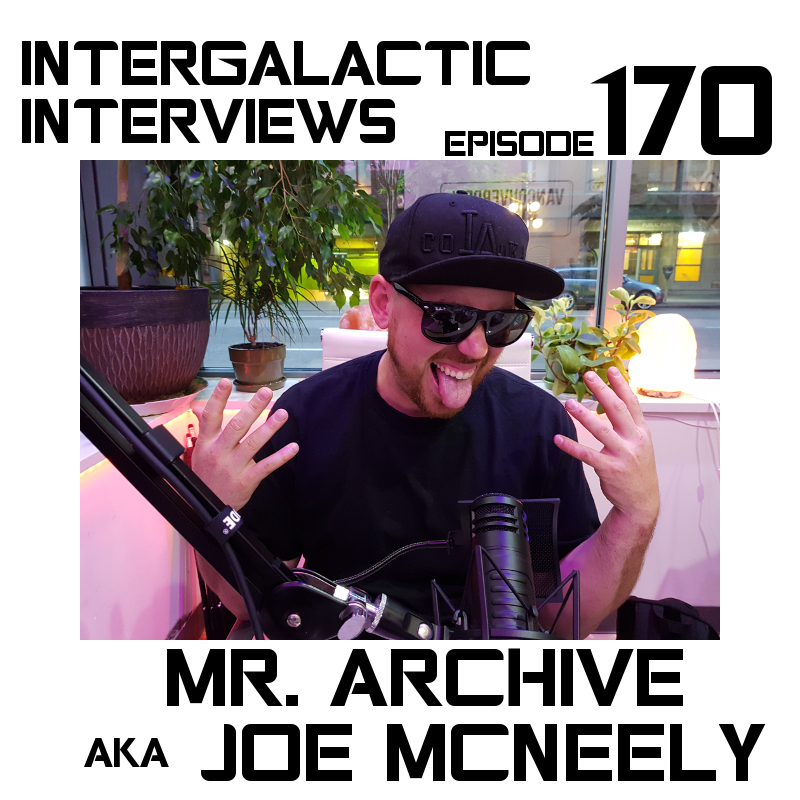 mr archive joe mcneely intergalactic interviews podcast spits n giggles clockwork holy sock gang jayme mcdonald md of the boomsday alliance liquid sunshine podcast
