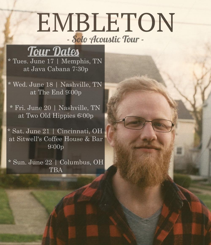 Embleton Tour Poster