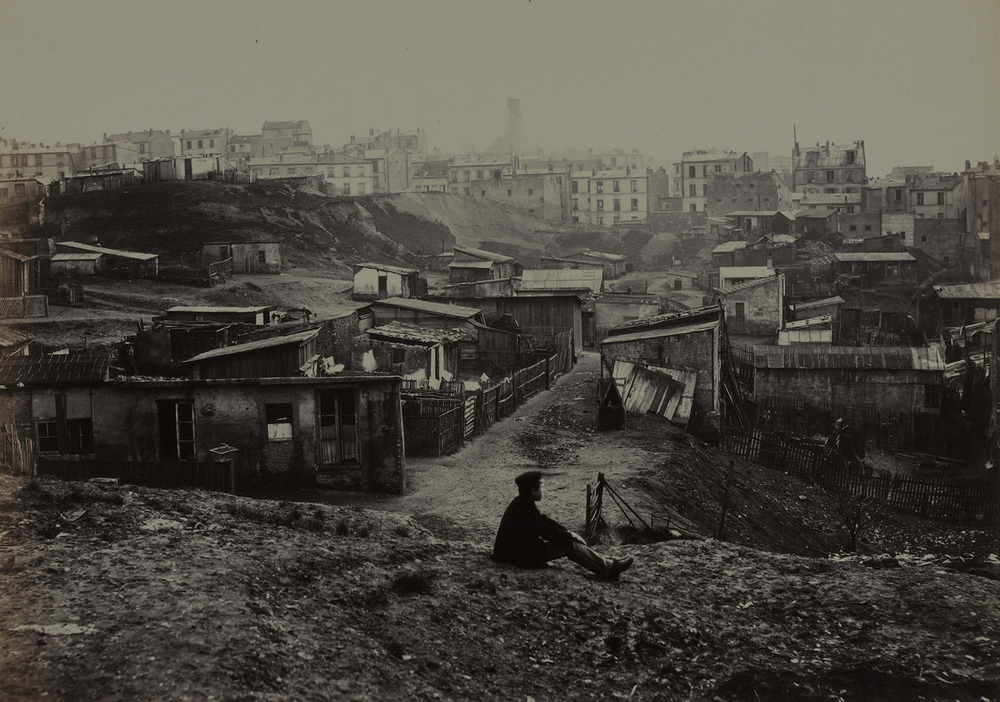 Taken from the top of Rue Champlain, 1877-1878.
