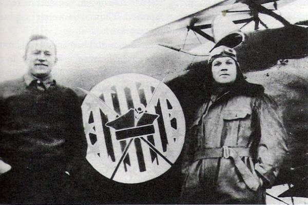 Merian C. Cooper pictured on the left.
