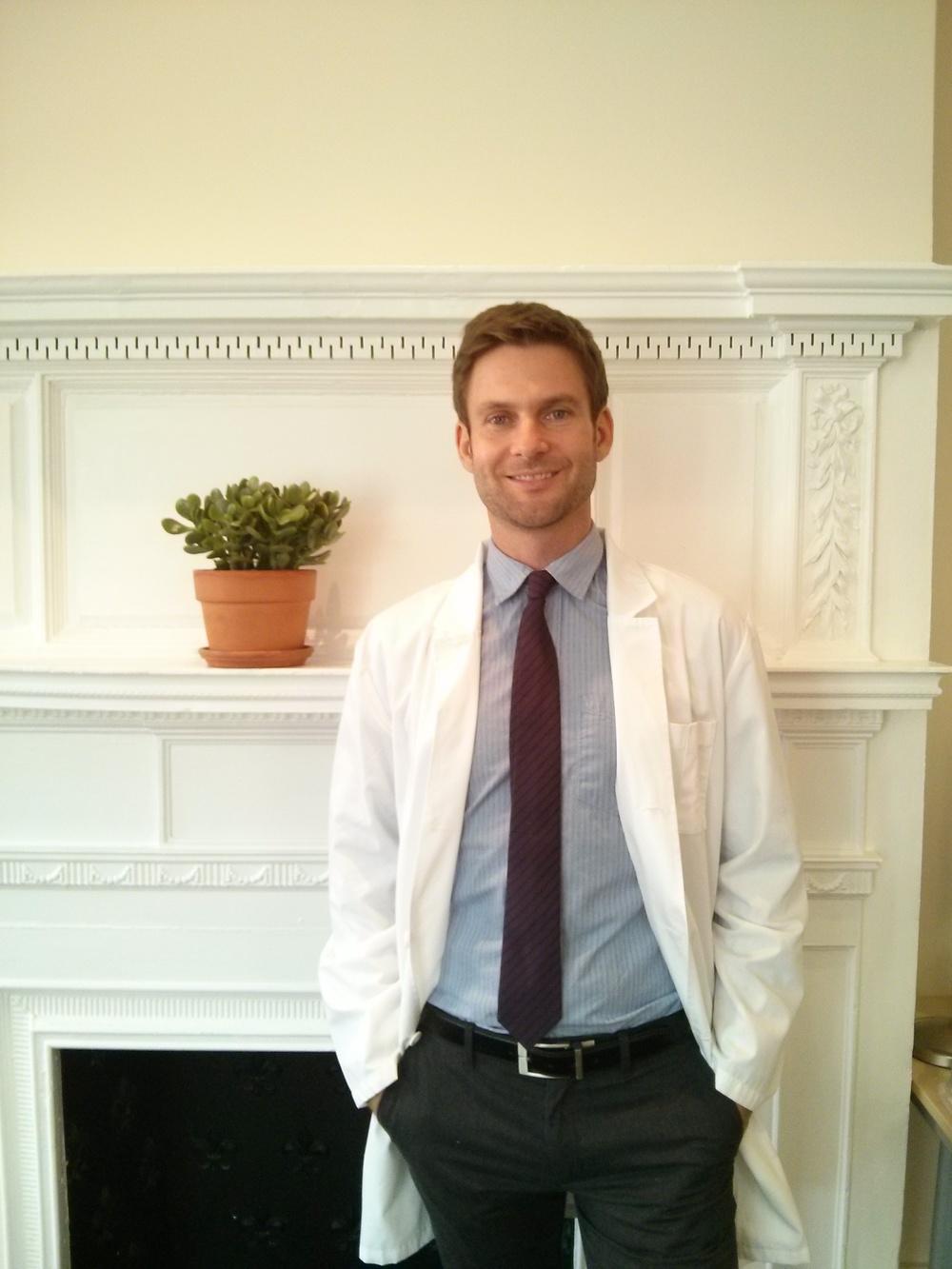 Aaron Cashman, Licensed Acupuncturist & Herbalist (LAc, POM)