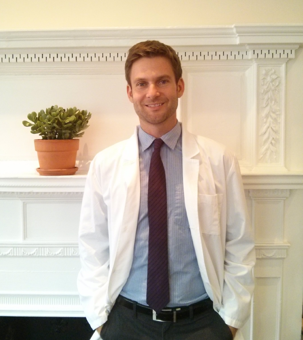 Aaron Cashman, Licensed Acupuncturist & Herbalist (LAc, DiplOM, MTCM)