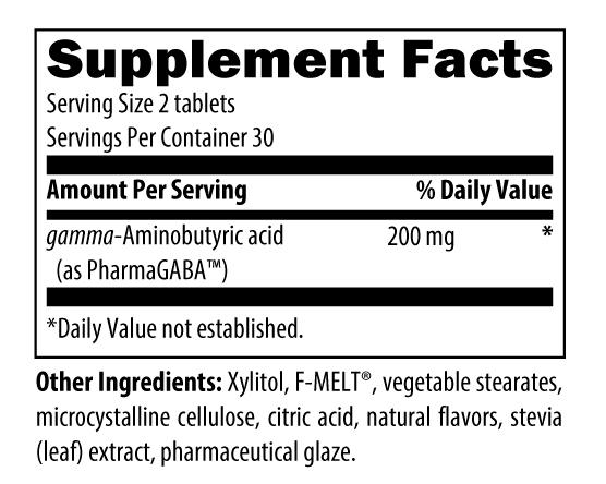 PharmaGABA Chewable supplement facts.jpg