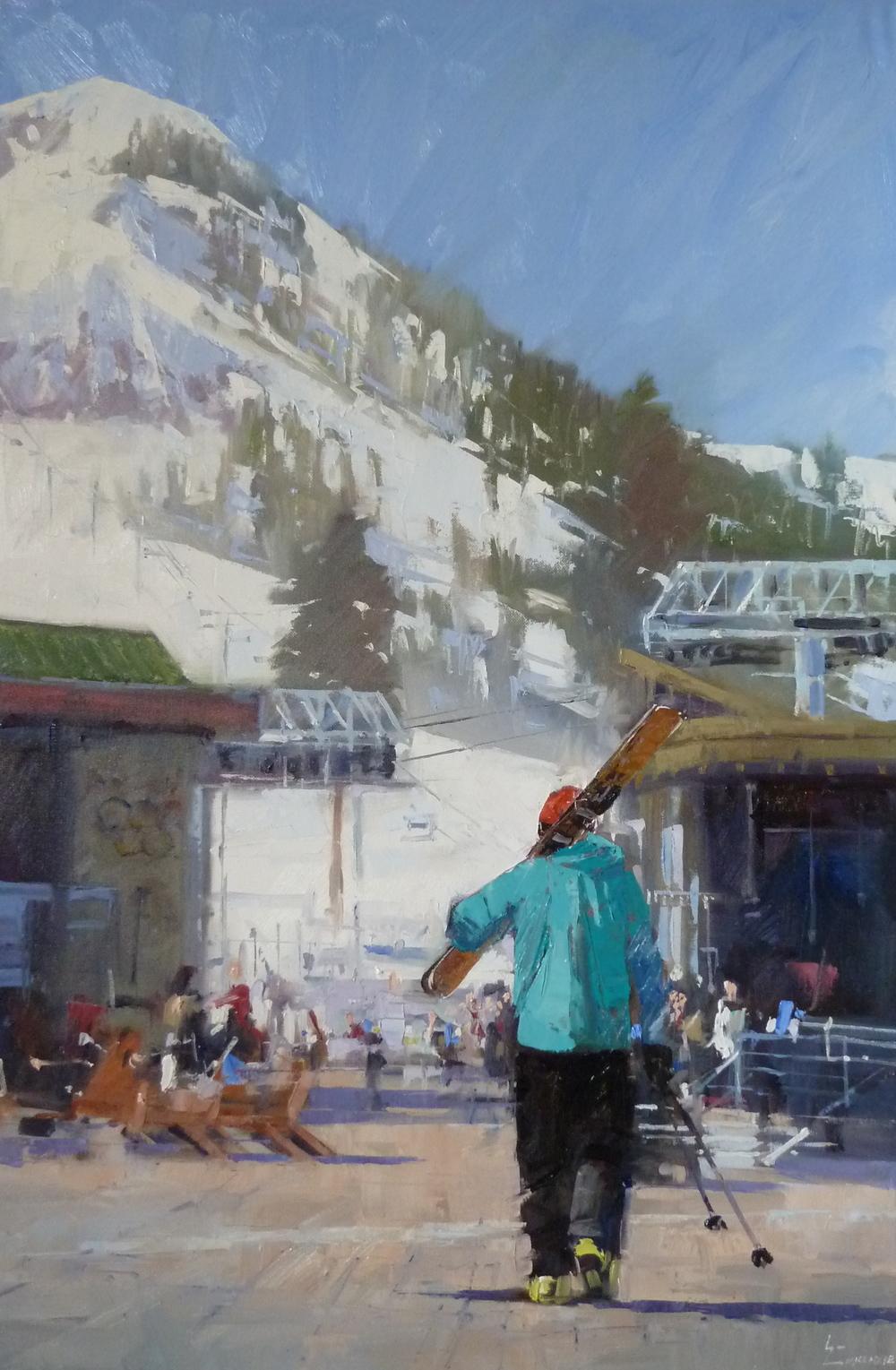 """""""KT Addict"""" 24x36, James Harold Galleries."""