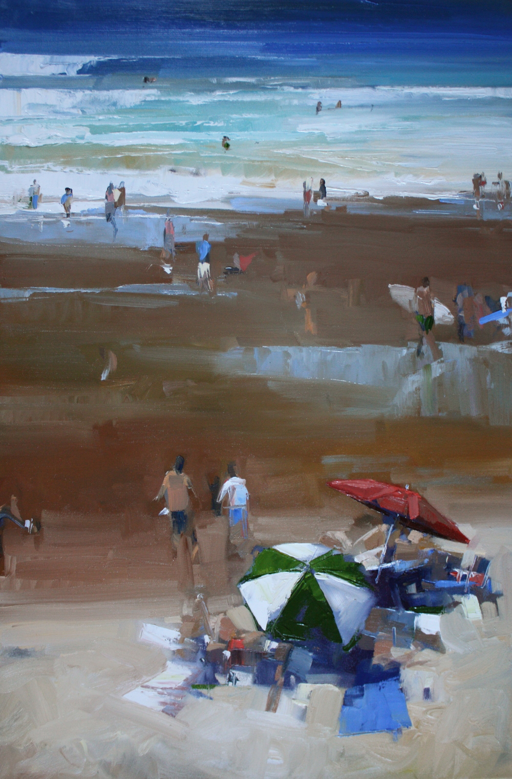 """Low Tide"" 24x36, Nancy Dodds Gallery."