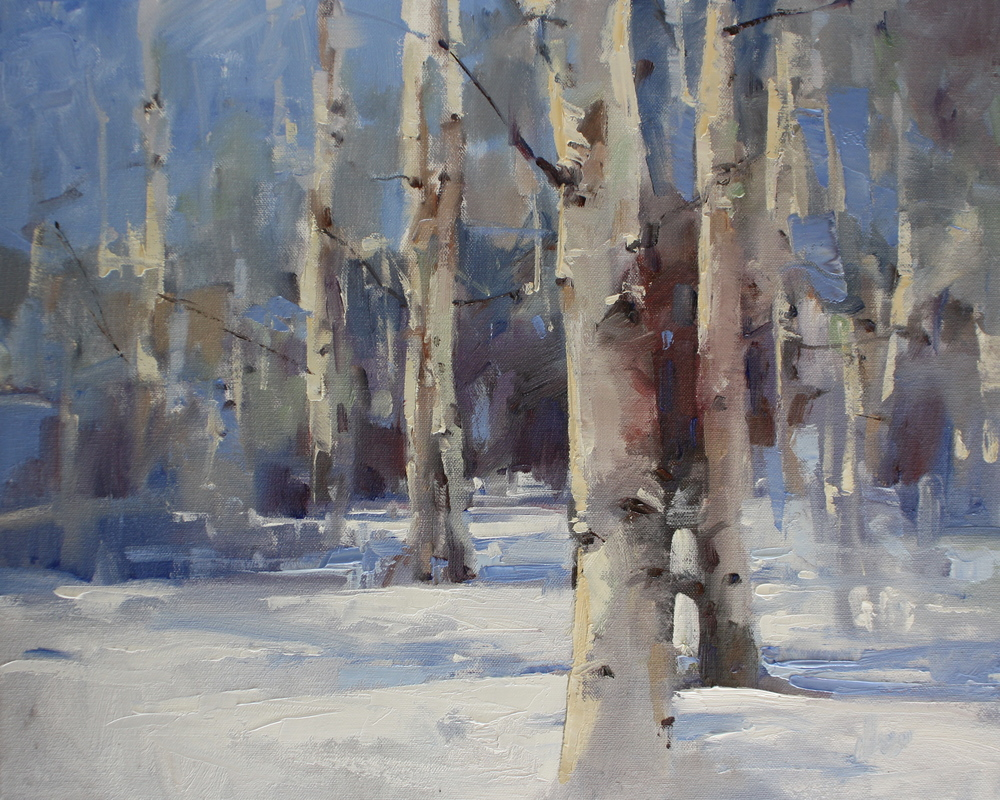 """First Snow"" 16x20, $1800."