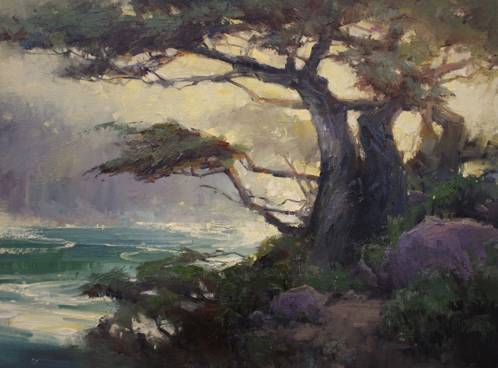 """""""Late Afternoon Glow"""" 18x24, Nnacy Dodds Gallery."""