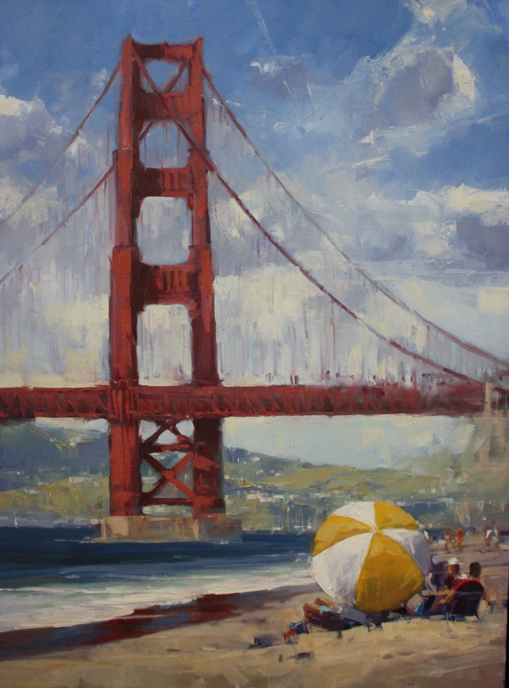 """""""Golden""""30x40, Lee Youngman Gallery."""