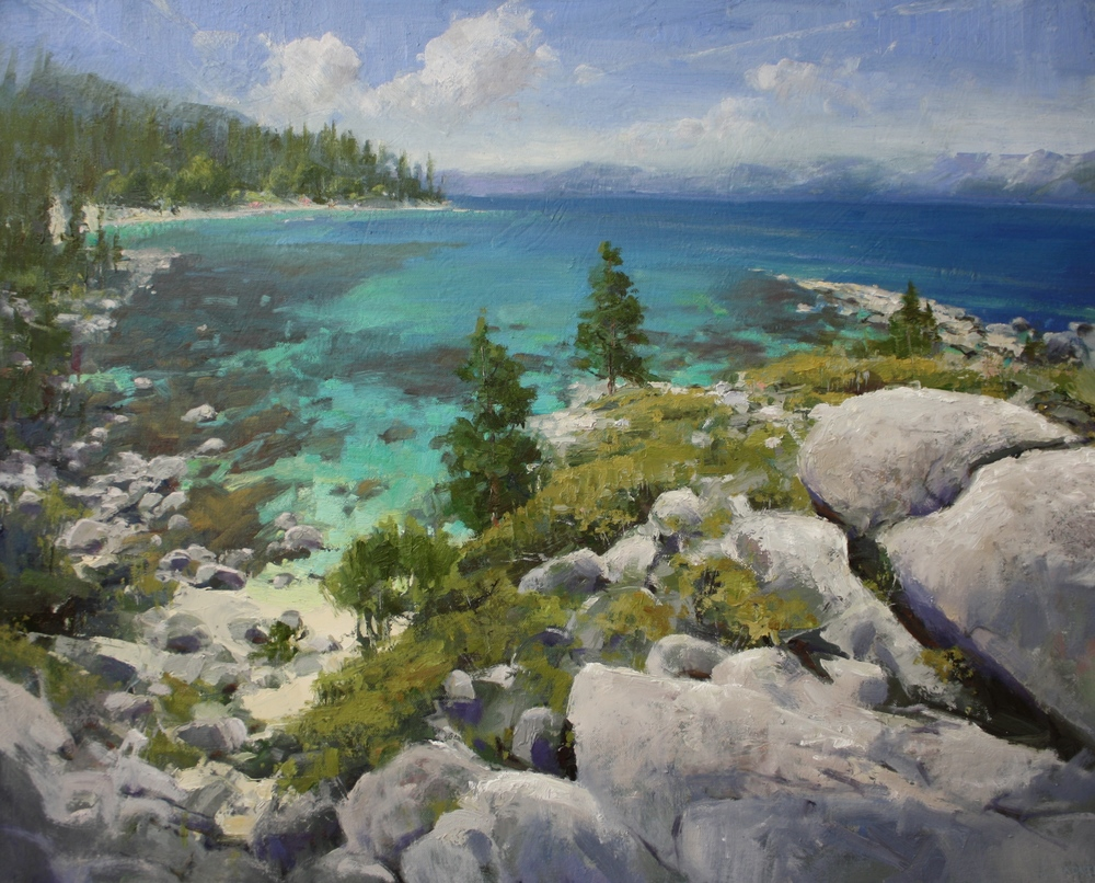 """Tahoe Magic"" 24x30, $3000."