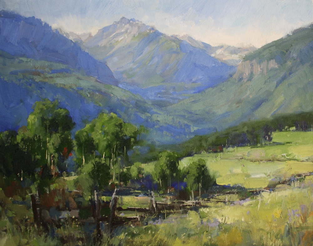 """Towards Ophir""22x28, Commission."