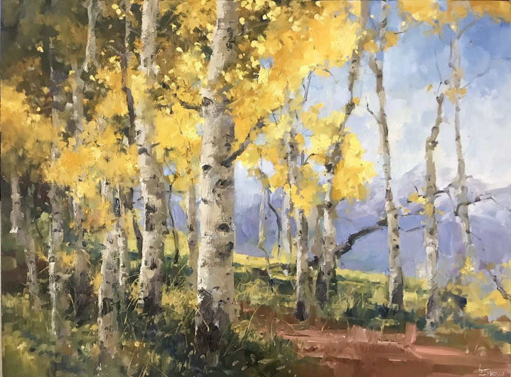 """Fall Colors"" 30x40, $5000."