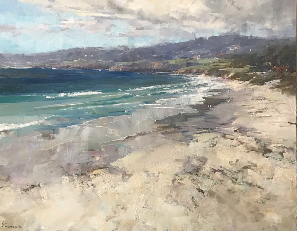 """Carmel Vista"" 18x24, Oil, $2200."