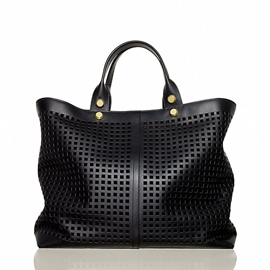Bionic track tote by Reed Krakoff