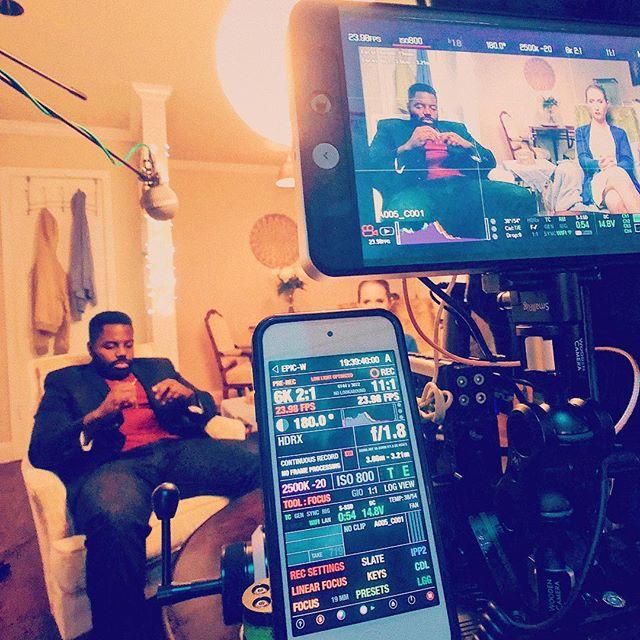 On set. 😎🎥