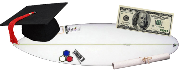 This year's CSA Surfing Scholars Award is $1250!