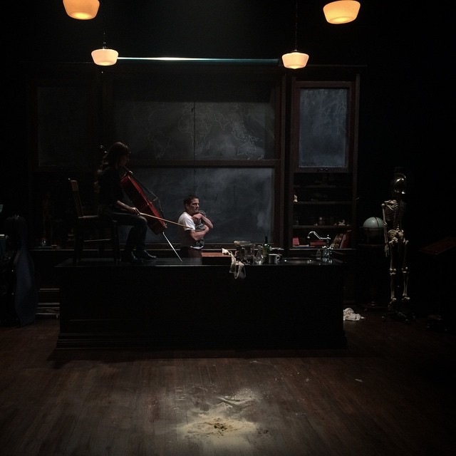 Photo by scenic designer Brian Sidney Bembridge