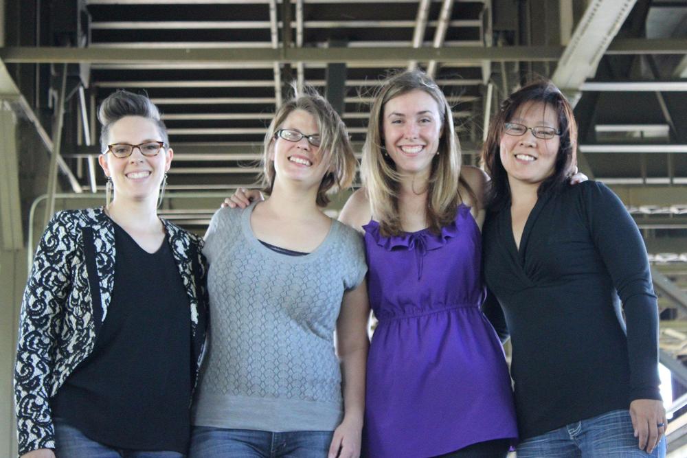 Riso Quartet: Alicia Storin - cello, Rachael Charles - viola, Johanna Schilling - piano, Megan Buschkopf - violin.