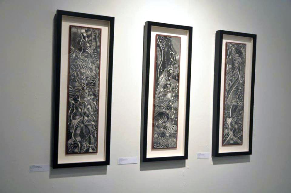 same difference by Lisa Goesling: Spontaneous Combustion 1,2,3