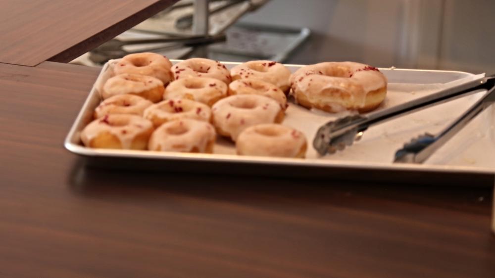 Rose doughnuts