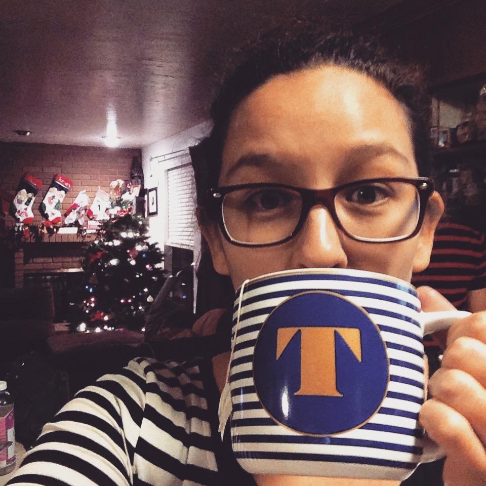 I'm a brown American drinkin' tea.