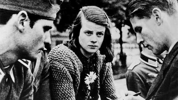 Sophie Scholl, German anti-Nazi activist.