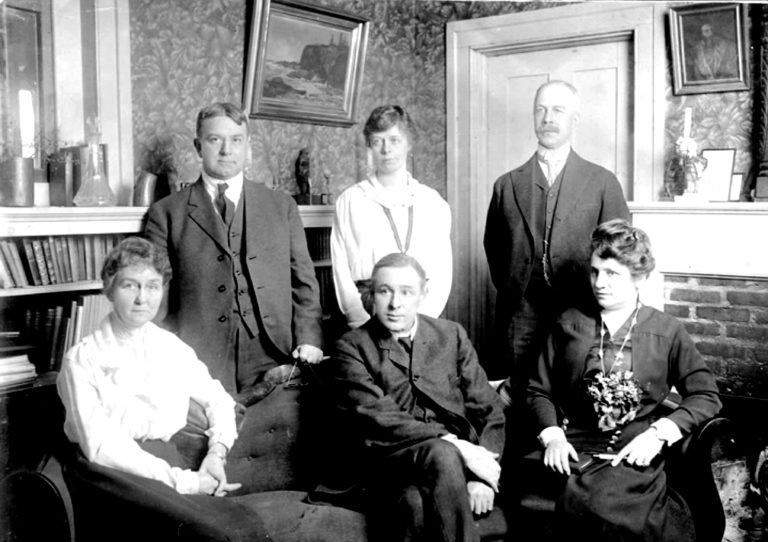 The meeting of the minds at Consolation House, 1917 - the formation of the Society for the Promotion of Occupational Therapy