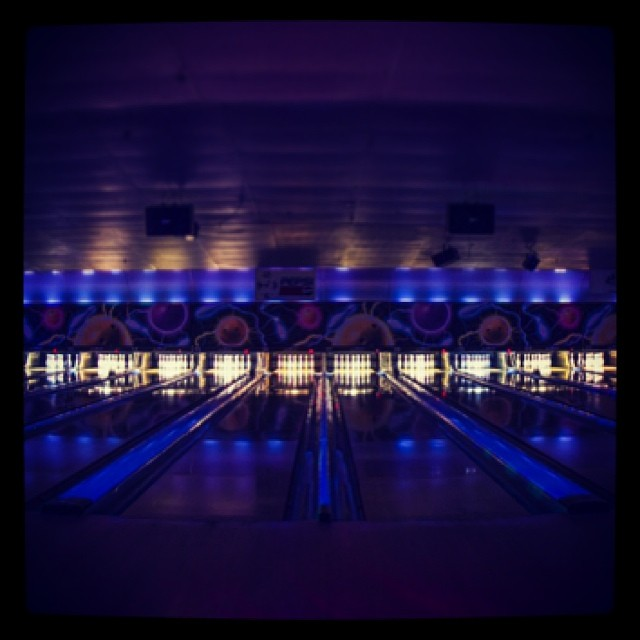 Stop by and join us for Cosmic Bowling fun. Our fist session just started, it goes from 7pm to 9pm @ $12 per person and our second session starts at 9:30pm to 12:30am @ 15 per person.