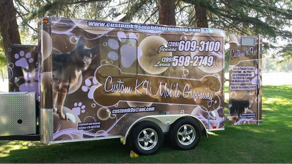 CUSTOM K9'S MOBILE GROOMING WEBSITE