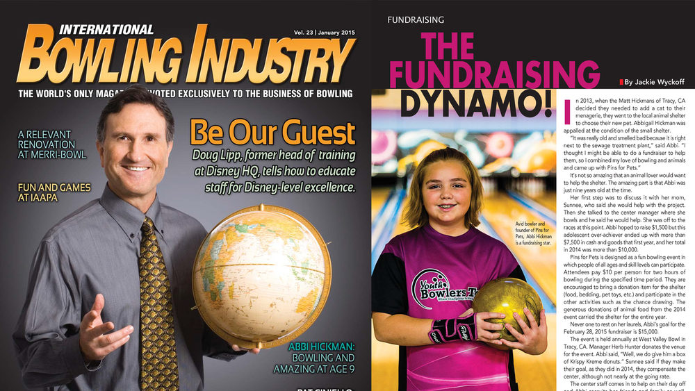 BOWLING INDUSTRY MAGAZINE