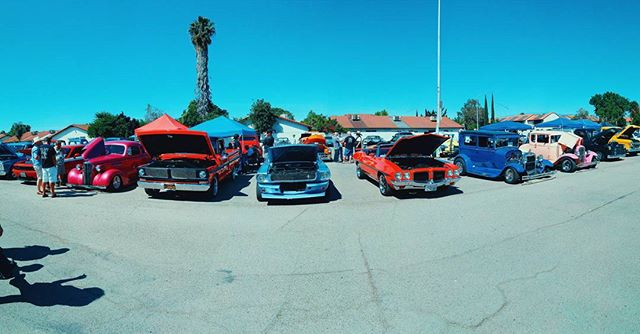 The Ford F100 Elite Club car show is in our parking lot today until 3pm. Come see classics, customs, hot rods, muscles, and more.