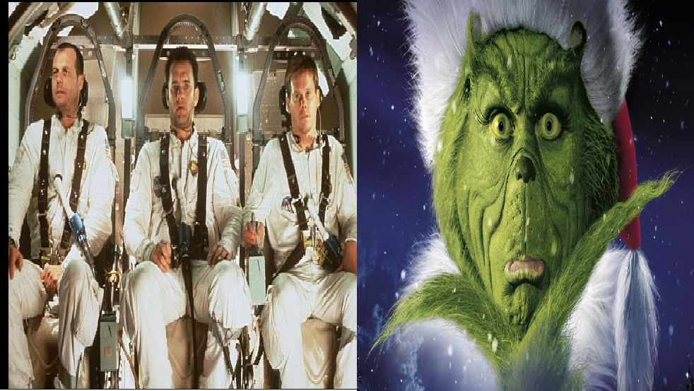 Apollo 13/ How the Grinch Stole Christmas