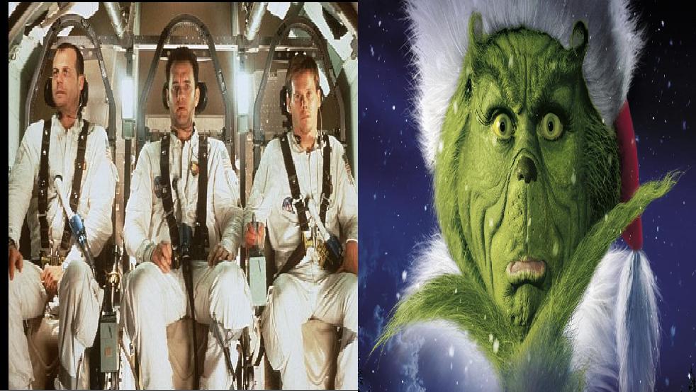 Apollo 13/ How the Grinch Stole Christmas