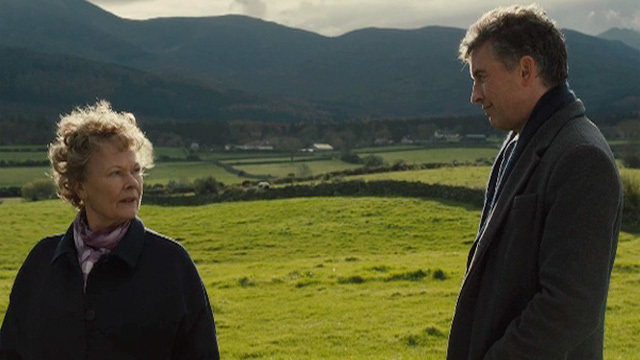 Not a romantic comedy between Steve Coogan and Dame Judi Dench. Unfortunately.