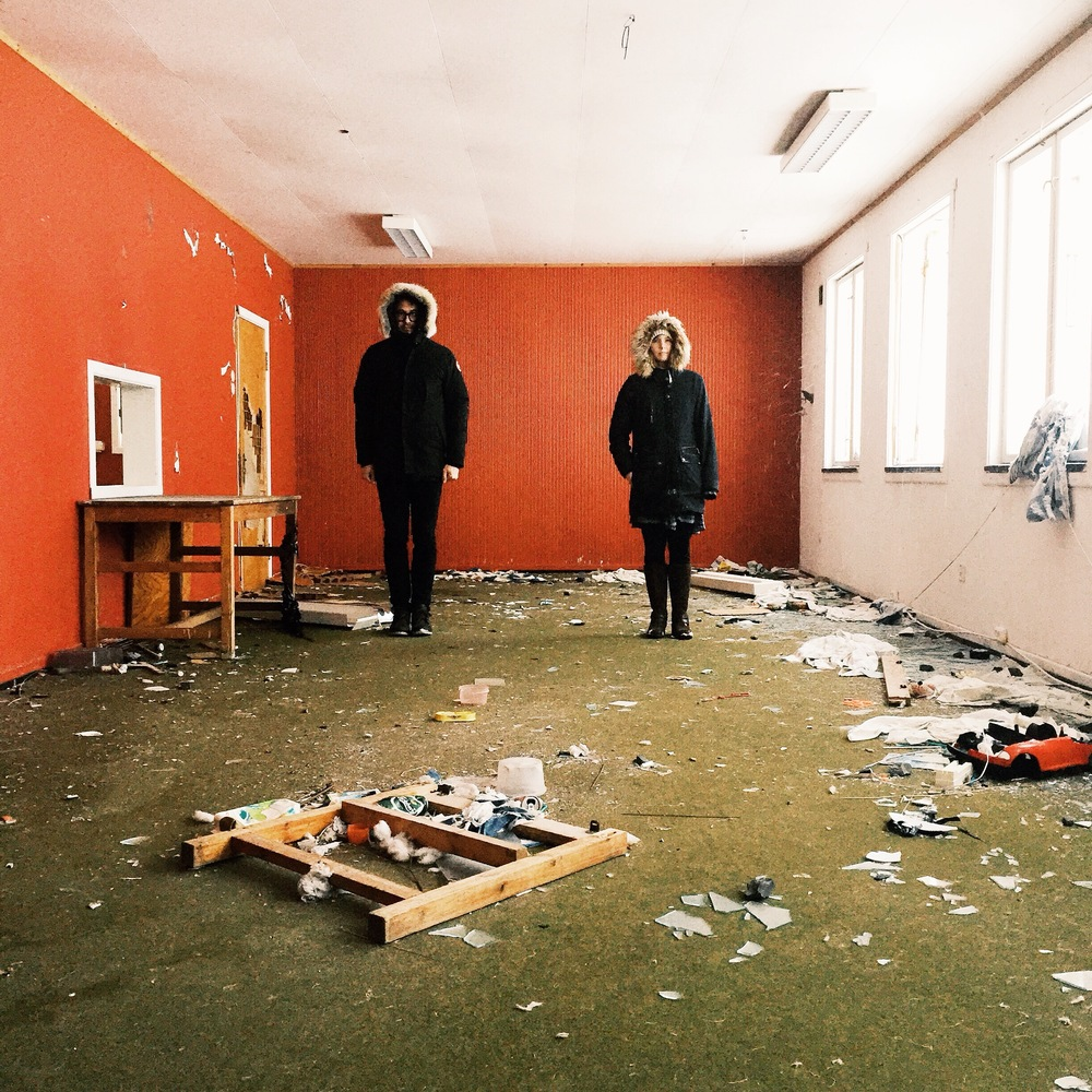 ABANDONED SCHOOLHOUSE, HONNINGSVAG, NORWAY