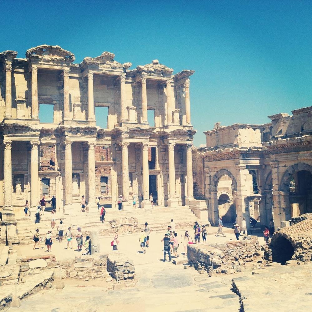 LIBRARY OF CELSUS, EFES, TURKEY