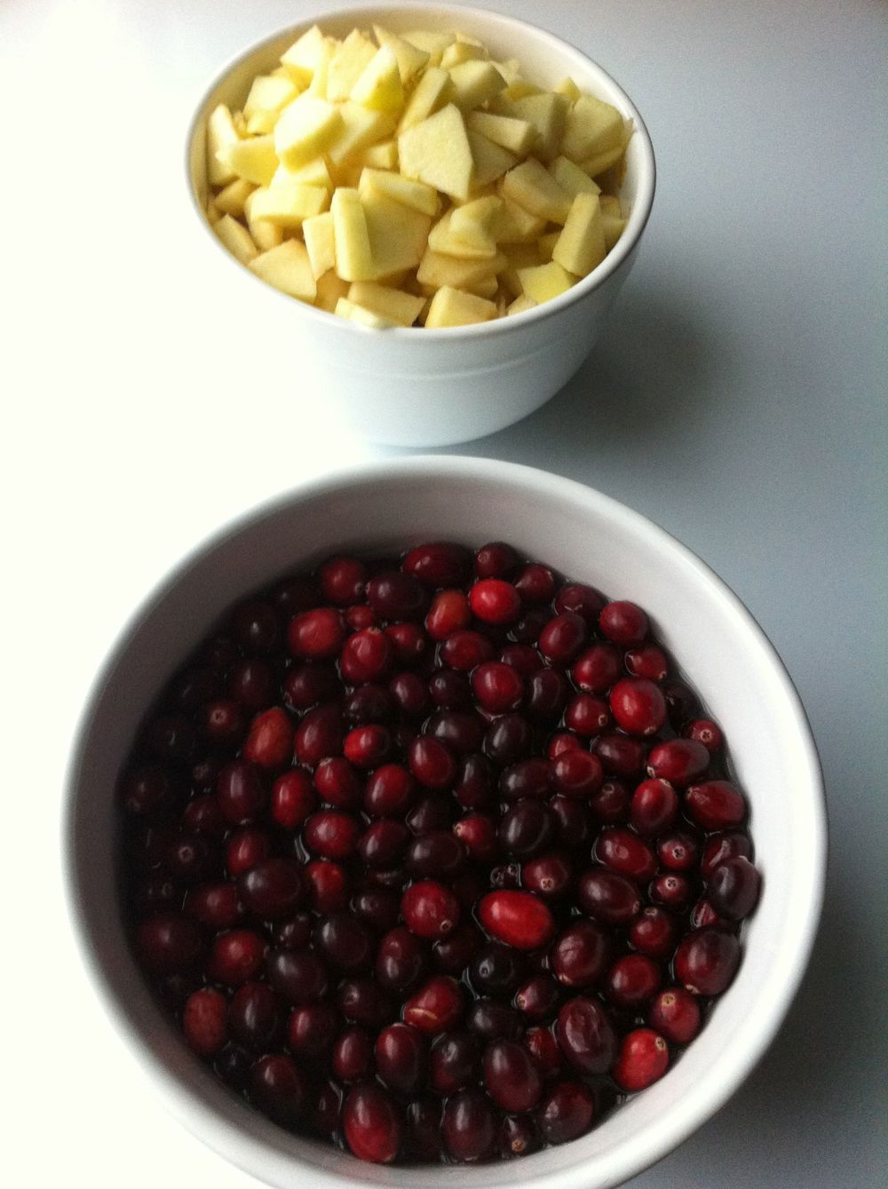 Apples and Cranberries