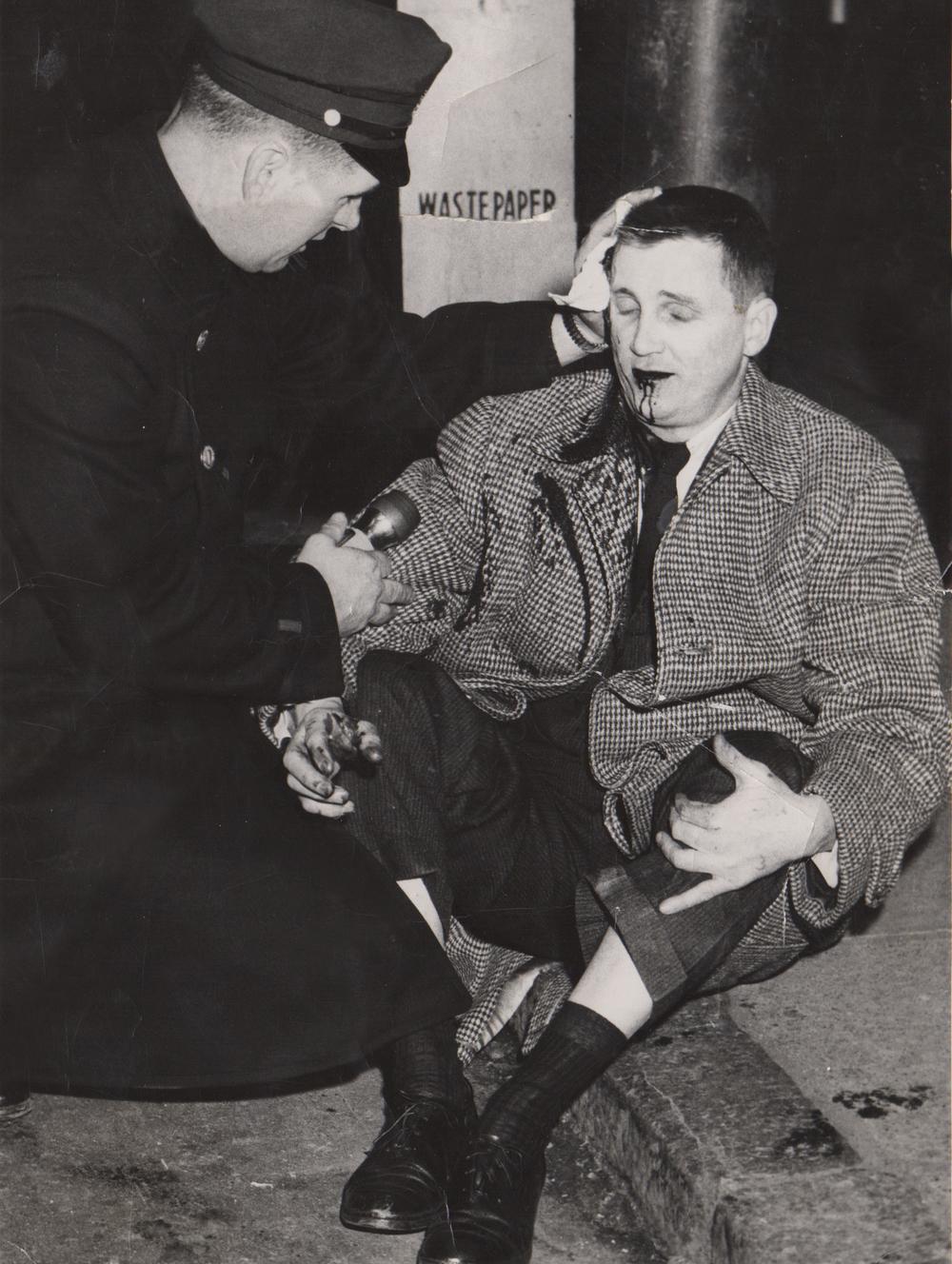 Assisting an assault victim