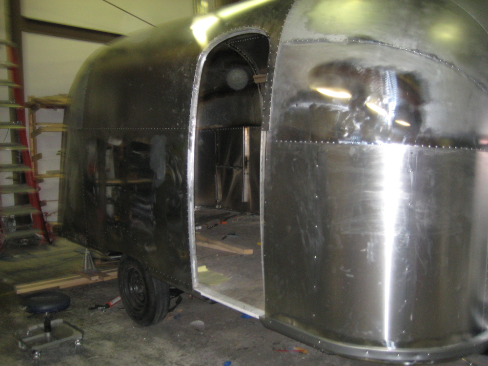 Restored Vintage Airstream