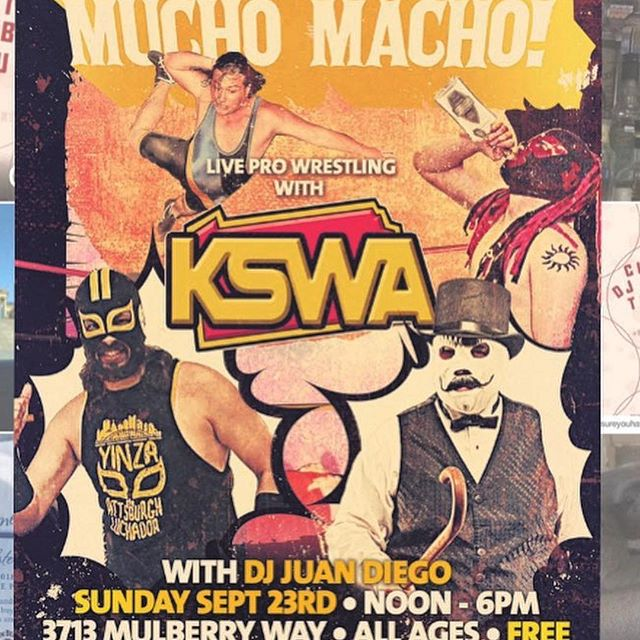 Join me for some Cigars and Wrestling!!