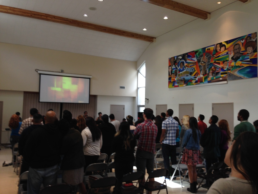 Sunday Church Service @ Calvary Coastline, Venice, California