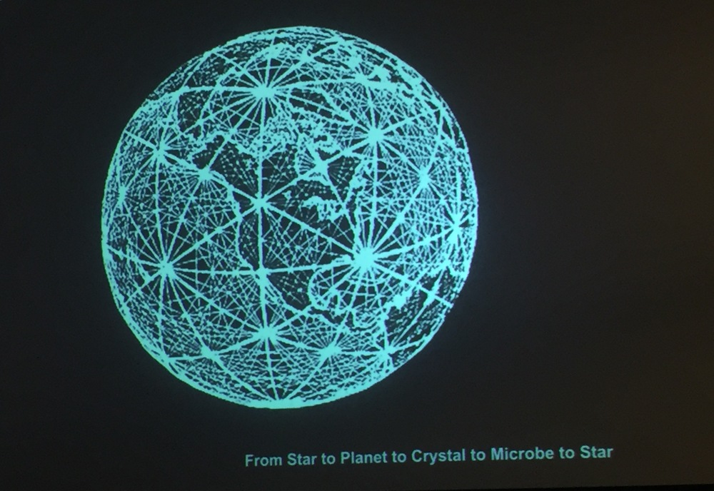 FROM STAR TO PLANET TO CRYSTAL TO MICROBE TO STAR
