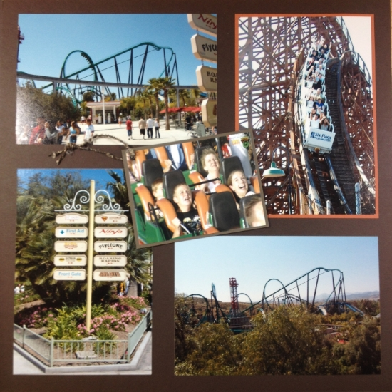 One Fine Day at Magic Mountain, Valencia, California