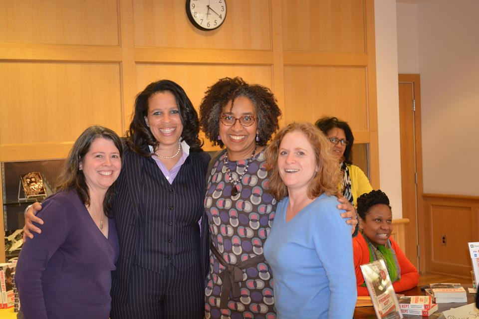 With Eileen Flanagan, Imana Legette and Margaret Berger Bradley at Penn Charter