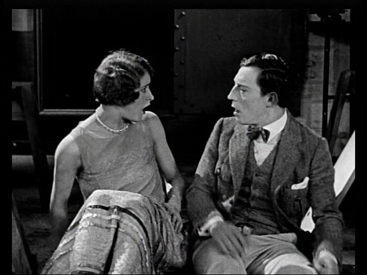 buster keaton silent film