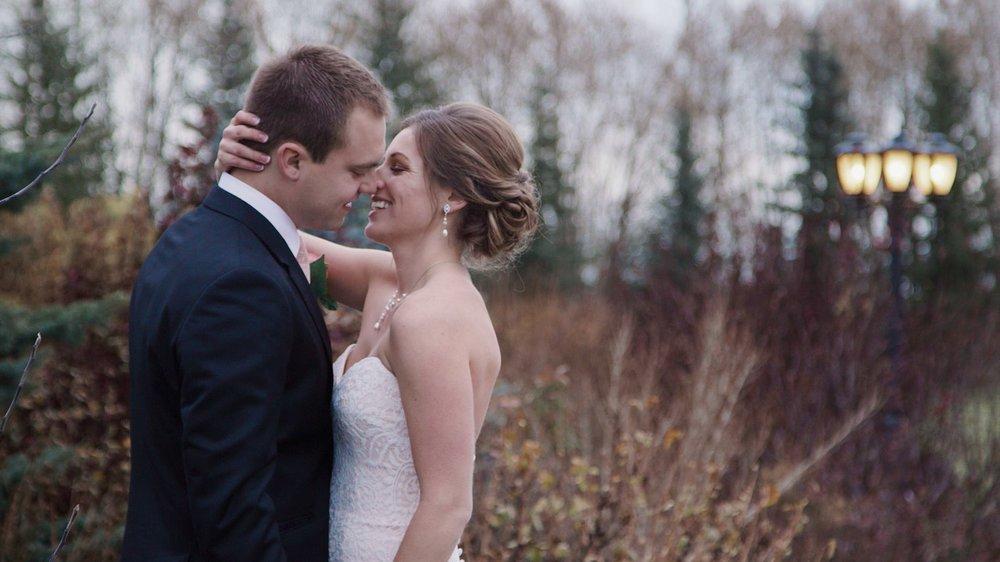 wedding videographer edmonton