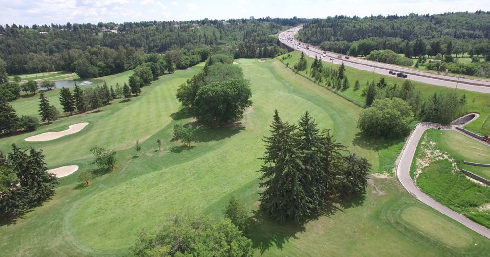Golf Course Drone Video Edmonton