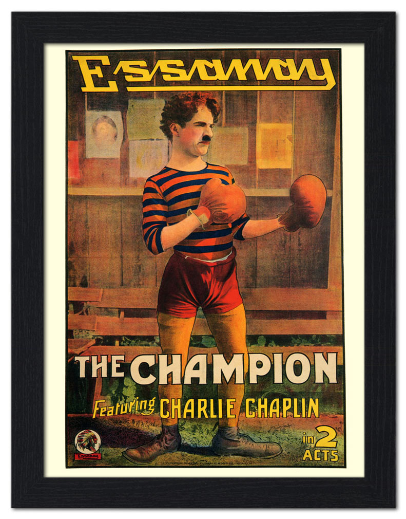 Charlie Chaplin The Champion Poster